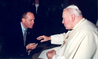 Dad and JPII