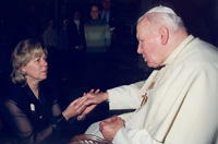 Mom and JPII